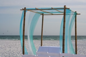Beachy Blue Wedding Theme