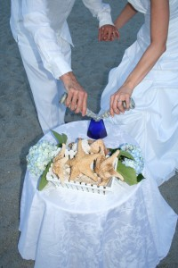 Cobalt Blue Wedding Ceremony