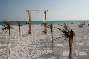 Wedding On Anna Maria Island, Florida